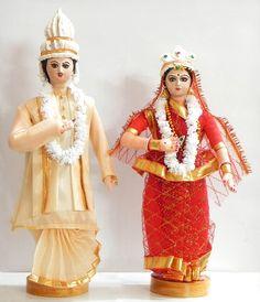Bengali Bride and Bridegroom (Cloth))