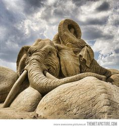 Unbelievable Sand Sculpture…