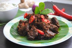 Beef Rendang Recipe  Rendang took the top position on the list of 50 most delicious foods in the world, according to the survey by CNN based on 35,000 votes in 2011.  Here is the authentic beef rendang recipe from the birthplace of rendang- Minang, Indonesia.  For now, feast your eyes and control your drooling. Grab the recipe and let the best food tantalizes your taste buds.
