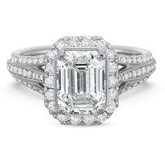 Precision Set Flush Fit Platinum & Diamond Semi Mount Engagement Ring