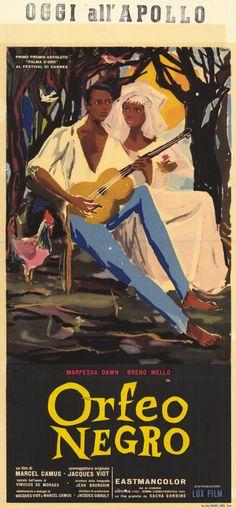 Black Orpheus (Italian) 11x17 Movie Poster (1960)