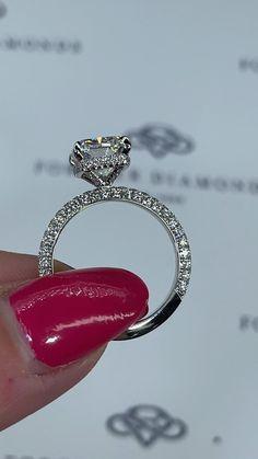 Cute Engagement Rings, Radiant Engagement Rings, Pear Shaped Engagement Rings, Verragio Engagement Rings, Platinum Diamond Rings, Diamond Wedding Bands, Diamond Jewelry, Wedding Jewelry, Wedding Rings
