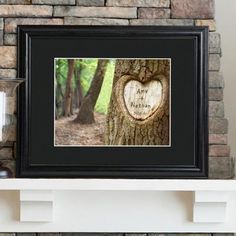Personalized Tree of Love Picture Frame