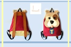 Teo/dog/handmade in Italy/for child/one piece/home fabrics/eco-leather,