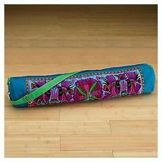 Embroidered Yoga Mat Bag - NO TWO ARE ALIKE