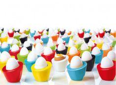 Coquetiers Pollo, design Yvonne Shubkegel pour #AsaSelection - #matea