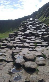 Travel Blog--Giant's Causeway, Ireland #Ireland #Giant'sCauseway #travel #blog