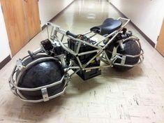 Spherical Drive System looks super cool!! batman cool!!