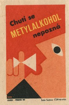 czechoslovakian matchbox label by maraid, via Flickr