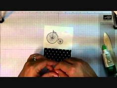 Unfrogettable Stamping | Stampin' Up! quick and easy Timeless Talk thank you card tutorial video 2014-07-17