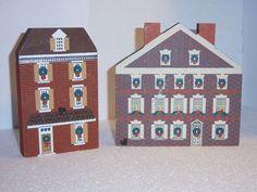 TCM Philadelphia Christmas Series Elfreth's Alley & Graff House Shelf Sitter
