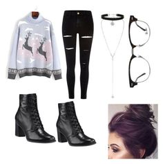"""Untitled #16"" by crybabyellie on Polyvore featuring River Island, Miss Selfridge, Timberland and Ray-Ban"