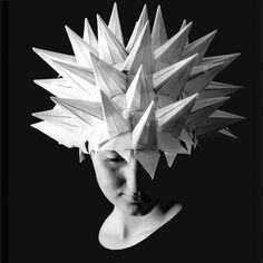 Paper hat by Rudolf Bognar, via Flickr