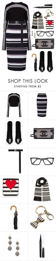 """Senza titolo #6988"" by waikiki24 ❤ liked on Polyvore featuring Yohji Yamamoto, Yves Saint Laurent, Chanel, Alyx, Cazal, Kate Spade, Puma, Paul Smith, Henri Bendel and Forever 21"