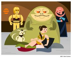 Jabba's Palace (Vector)  Created by Brian Gubicza