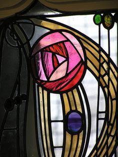 Beautiful Mackintosh rose