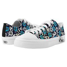 Floral Patterns Low-Top Sneakers