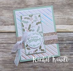 Stampin Up Christmas, Christmas Greeting Cards, Greeting Cards Handmade, Holiday Cards, Fancy Fold Cards, Folded Cards, Make Your Own Card, Christmas Catalogs, Winter Cards