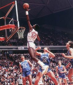 Ralph Sampson, who played for the Houston Rockets from 1983 to 1998.