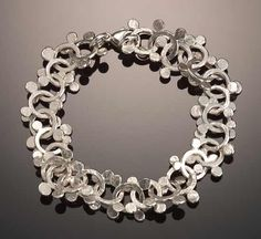 """Sterling Dot Bracelet,"" created by Dona Look and Ken Loeber."