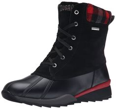 Cougar Women's Totem Winter Boot, Black, 7 M US. Guaranteed waterproof. Anti-slip outsole. Memory molded removable insoles. Comfort/warmth rating of 0 DegreeC to -24 DegreeC / 32 DegreeF to -11 DegreeF. Polar plush lining.