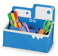 P'Kolino Mess Eaters Toy Storage Solutions: Desk Caddy | Cool Mom Picks