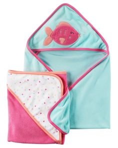 2-Pack Hooded Towels | Carters.com