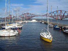 South Queensferry, Scotland Edinburgh Attractions, British Isles, Beautiful Islands, Historical Sites, Bridges, Outlander, United Kingdom, Travelling, Sailing
