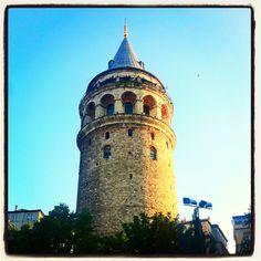 Galata Tower, #istanbul, turkiye