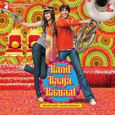 One of my favorite Bollywood movies, Band Baaja Baaraat. It's about friends that are wedding planners. Colorful and lots of great songs.