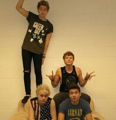 the usual with 5SOS. never know whats going on in their minds