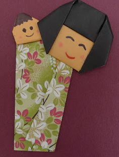 MARIA DOBRADURA: Origami Dia das Mães