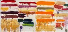 Joan Snyder, Summer Orange, 1970, Harvard Art Museums/Fogg Museum.