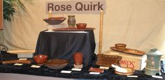 Art Event by Richland, WA, potter Rose Quirk
