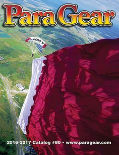 Congratulations to Scott H. Lazarus, photographer of this years 2016-2017 Para Gear catalog Front Cover photo!!! Under the command of Colonel FAHAD DHAFER ALAHBABI, of the Qatar/Military Sport Division, jumper Abdulla Hany Taleb Balian Safar of the Qatar Army Parachute & paramotor Team jumps a 16,442 Square Feet Qatar flag over the Lake Wales Skydiving/ Florida Skydiving Center in Lake Wales. Flag system weight was approximately 250 lbs…