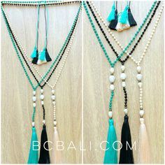 fresh water pearls with crystal beads tassels jewelry necklace - fresh water pearls with crystal beads tassels jewelry necklace
