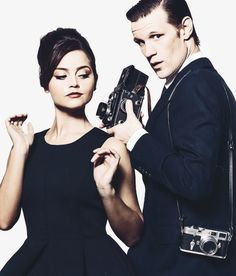 Matt Smith & Jenna Louise Coleman. This picture is so fantastic I can barely contain myself.