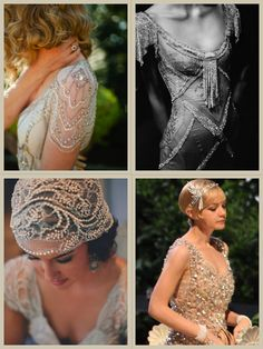 Noiva Great Gastby - A inspiração  Post completo: http://noivinhasdeluxo.com.br/post/noiva-great-gastby-a-inspiracao