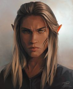 Dragon Age Characters, Elf Characters, Dungeons And Dragons Characters, Fantasy Characters, Dragon Age Origins, Dragon Age Inquisition, Dragon Age Elf, Fantasy Portraits, Character Portraits