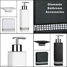 black sparkle soap dispenser