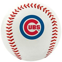 MLB Chicago Cubs Team Logo Baseball, Official, White Official regulation size Baseball Features primary team logo on front panel Commissioner's signature on the top panel Rawlings logo Printed on the back Features traditional Red stitching Mlb Team Logos, Mlb Teams, Baseball Teams, Baseball Uniforms, Baseball Stuff, Chicago Cubs Baseball, Chicago Cubs Logo, Cub Sport, Baseball Helmet