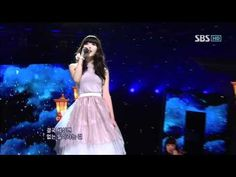 """IU -  """"The story only I didn't know"""" @ SBS Inkigayo 인기가요 110220"""