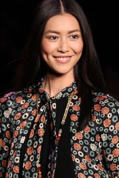As The First Asian Model to Make Forbes' List, Liu Wen Rakes It In