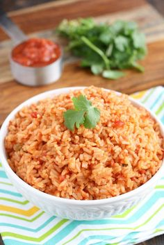 An easy one pot dish that's ready in about 15 minutes. This Mexican Rice is perfect served alongside almost any dinner too!