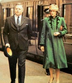 March 29, 1982: Princess Diana accompanied Prince Charles to open a new wing at St. Gemma's hospice, Harrogate Road, Leeds, Bristol.