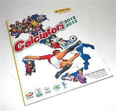 CALCIATORI-2012-2013-Panini-italy-sticker-book-empty-album-figurine-vuoto-nuov Sticker Books, Frosted Flakes, Empty, Cereal, Italy, Album, Figurine, Italia