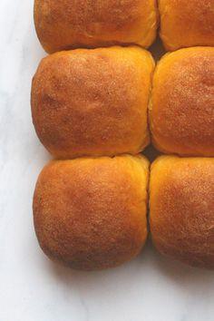 Vegan Sweet Potato Buns from TwoGreenPeas.com