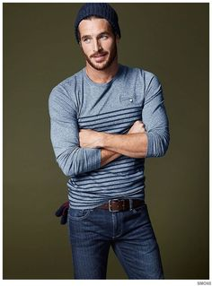 Simons Highlights Casual Holiday Mens Styles image Simons Holiday 2014 Mens Styles Justice Joslin 002