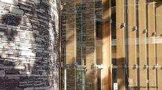 Interesting use of stone, glass and wood - John Hope Gateway, RBGE, Edinburgh, UK for Edward Cullinan Architects – Opened 2010