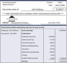 Payroll Stub Sample | Paycheck Stub Creator | StubSamples.com ...